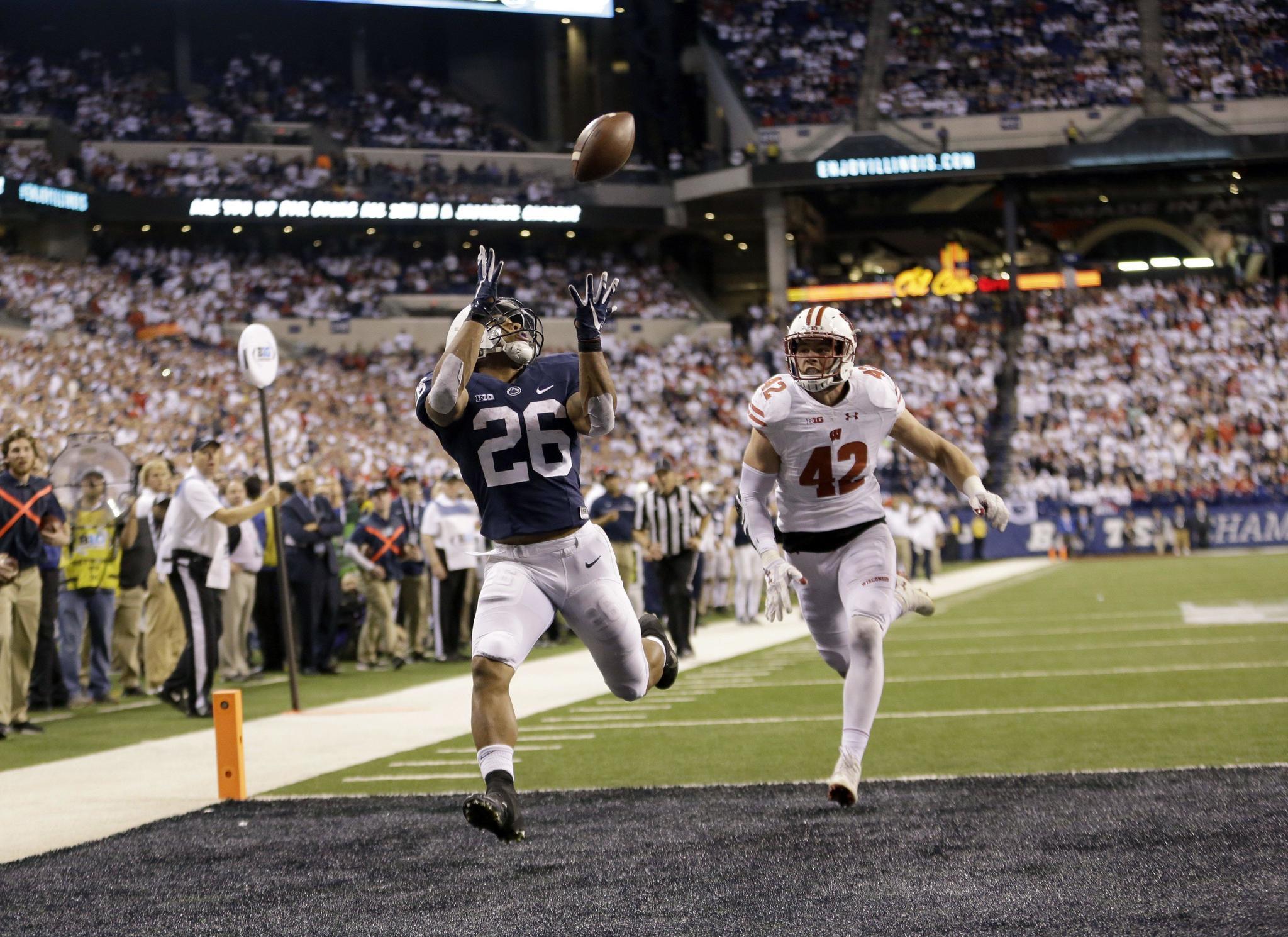 Penn State s Saquon Barkley seeks the next step of his career at the Rose  Bowl - Capital Gazette 15e12ac1b