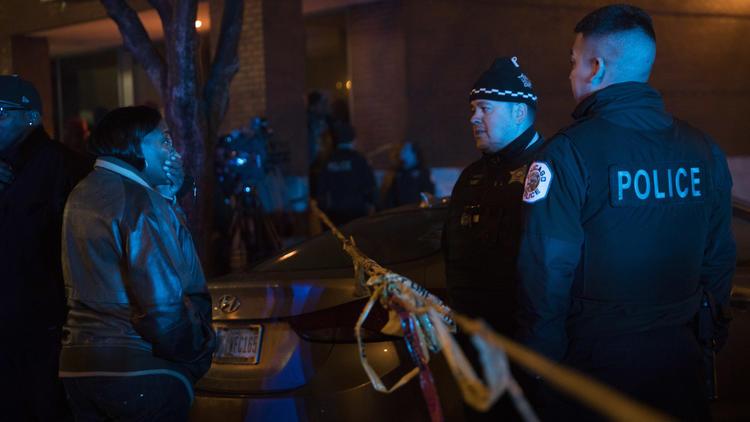 Multiple shooting scene