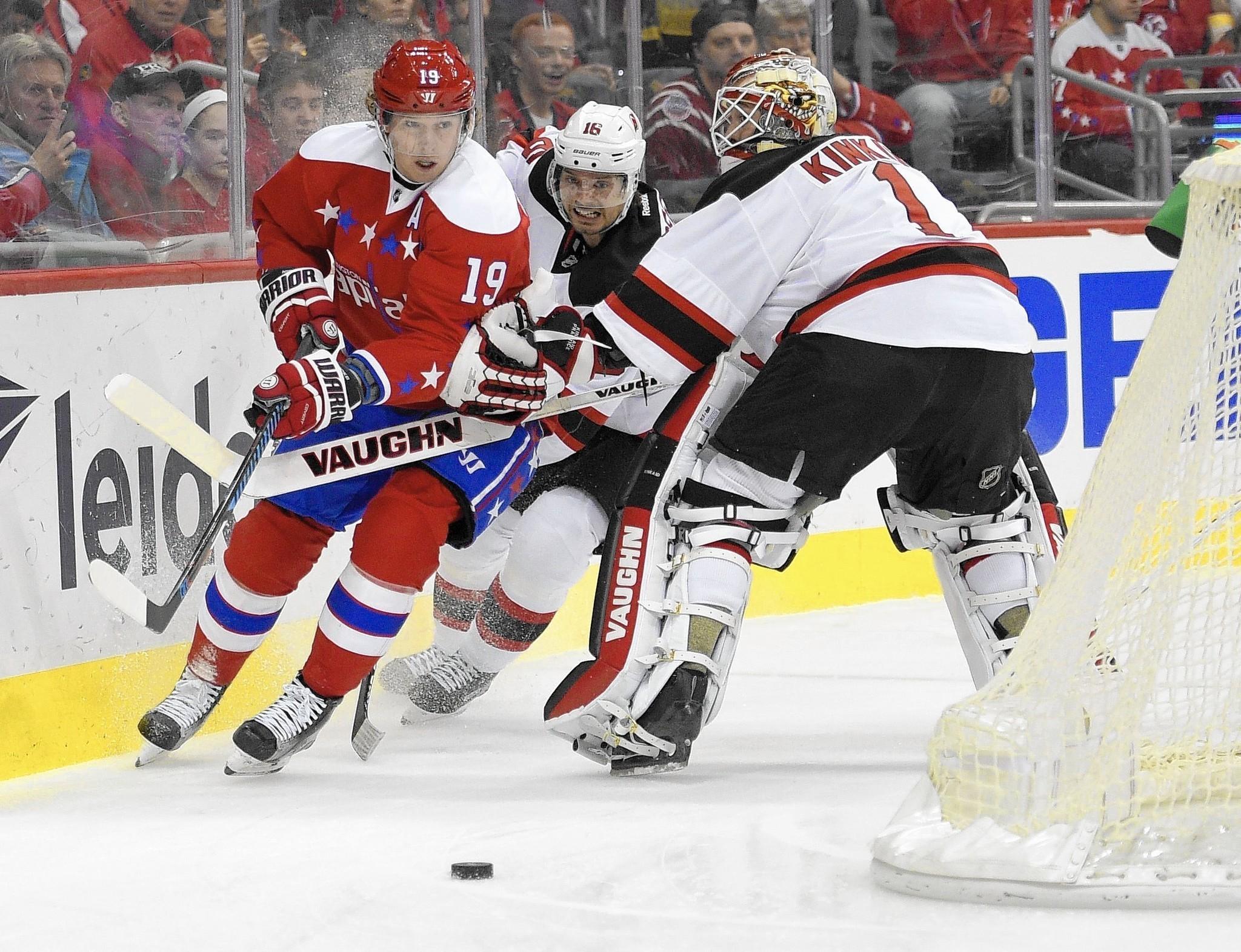 Devils beat Caps in shootout - Capital Gazette 1eaa42d9b0f