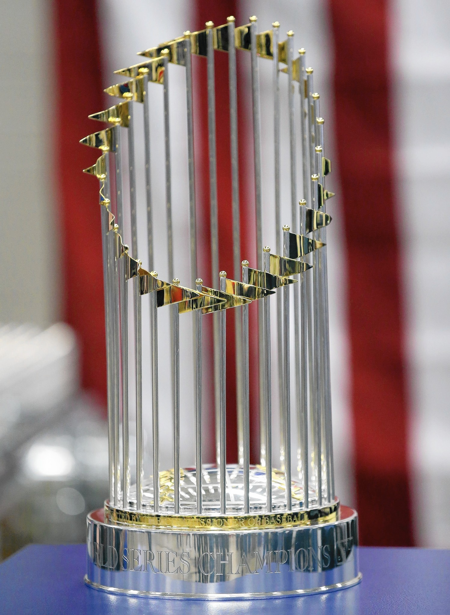 Cubs World Series Trophy In Naperville Saturday What