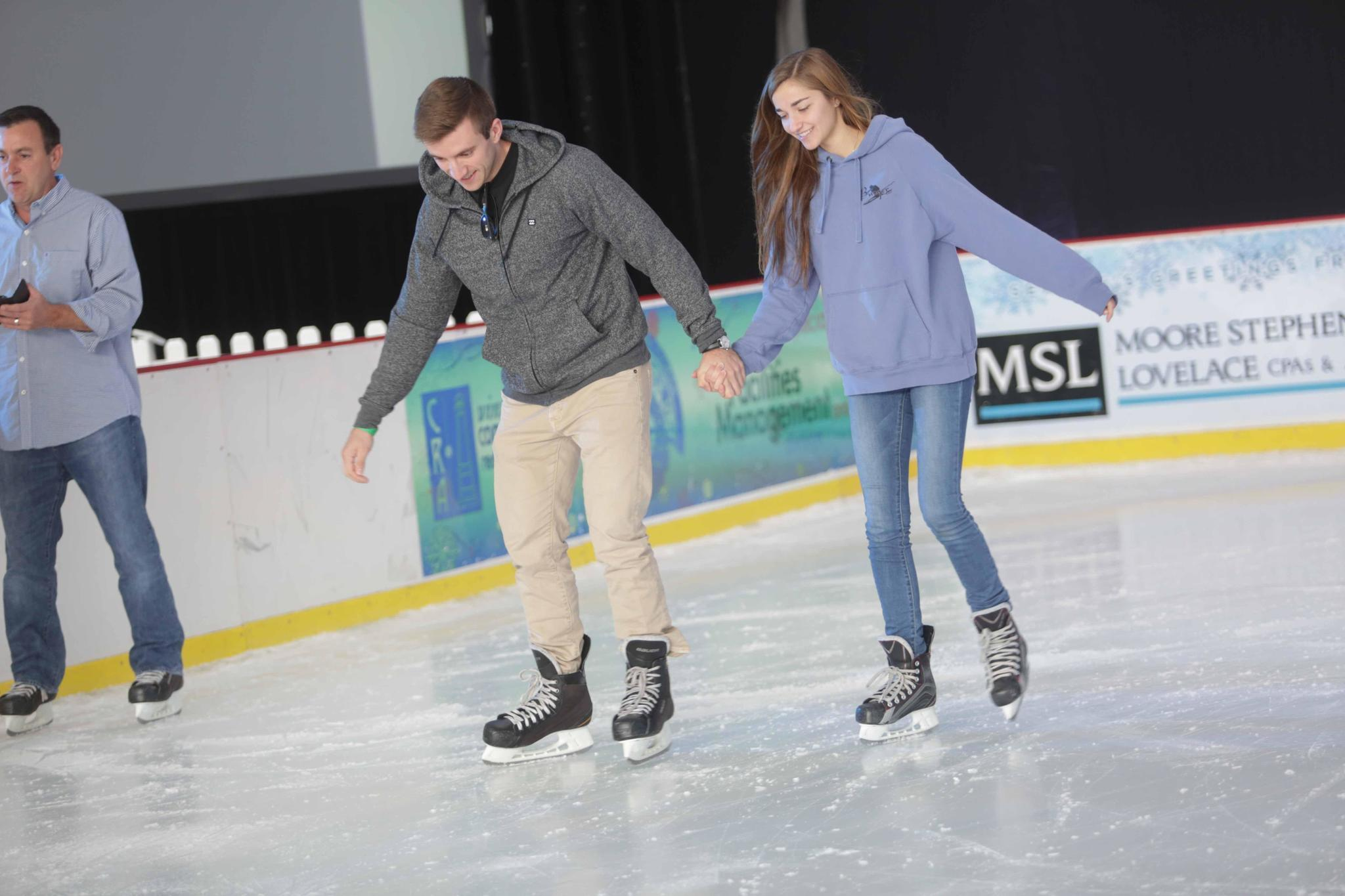 How To Get Ice Off Of Windshield >> Ice rink adds wintry touch to Central Florida - Orlando ...