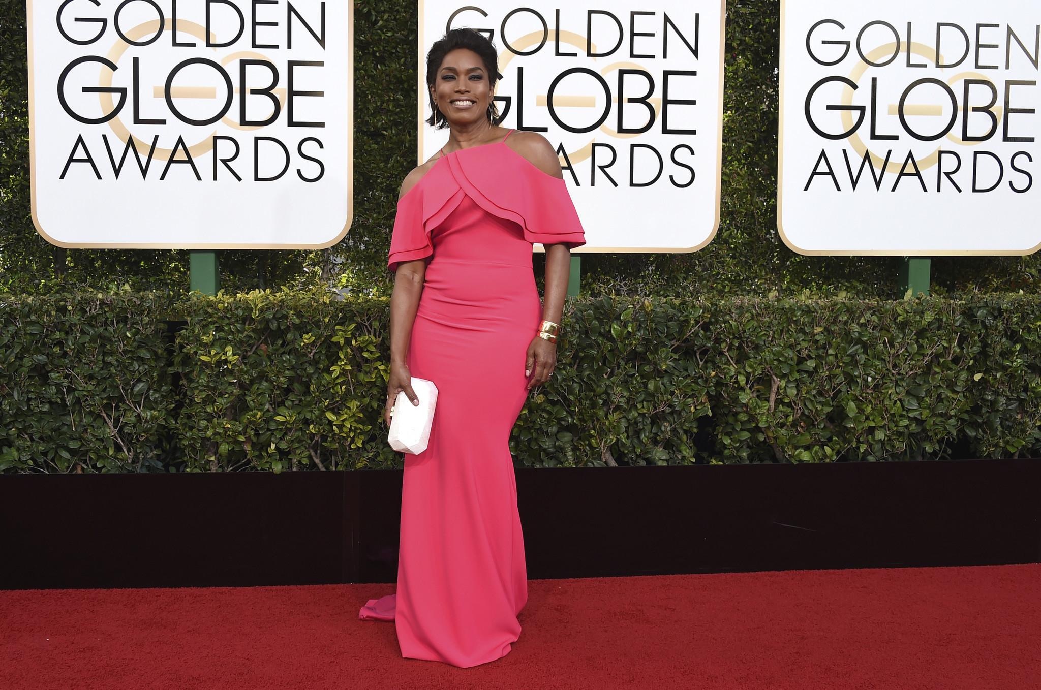 85b927b31d7 Three stars wear Christian Siriano dresses at Golden Globes - Baltimore Sun