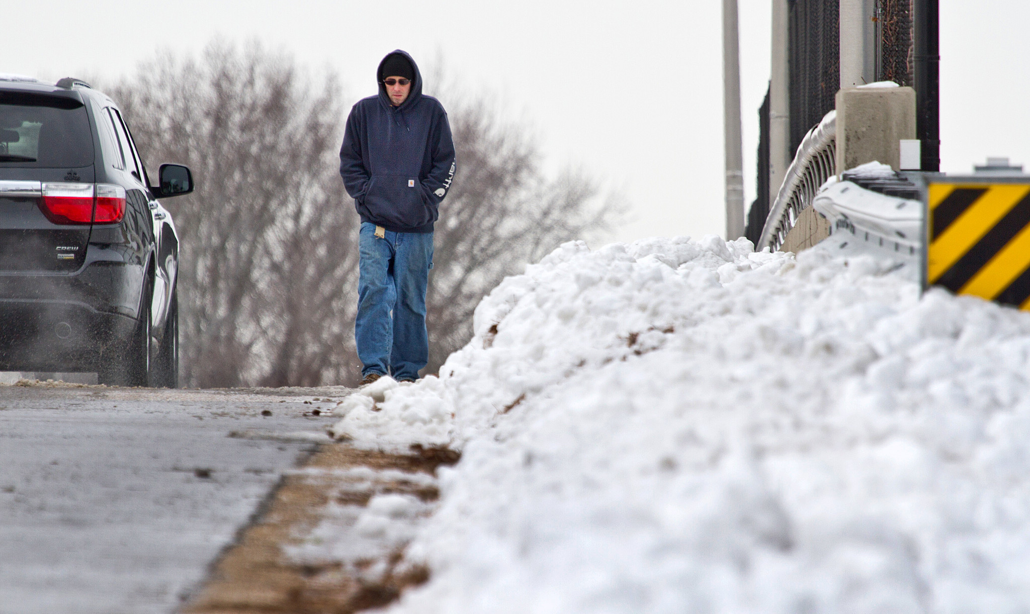 After the snow, the ice: Peninsula struggles with storm ...