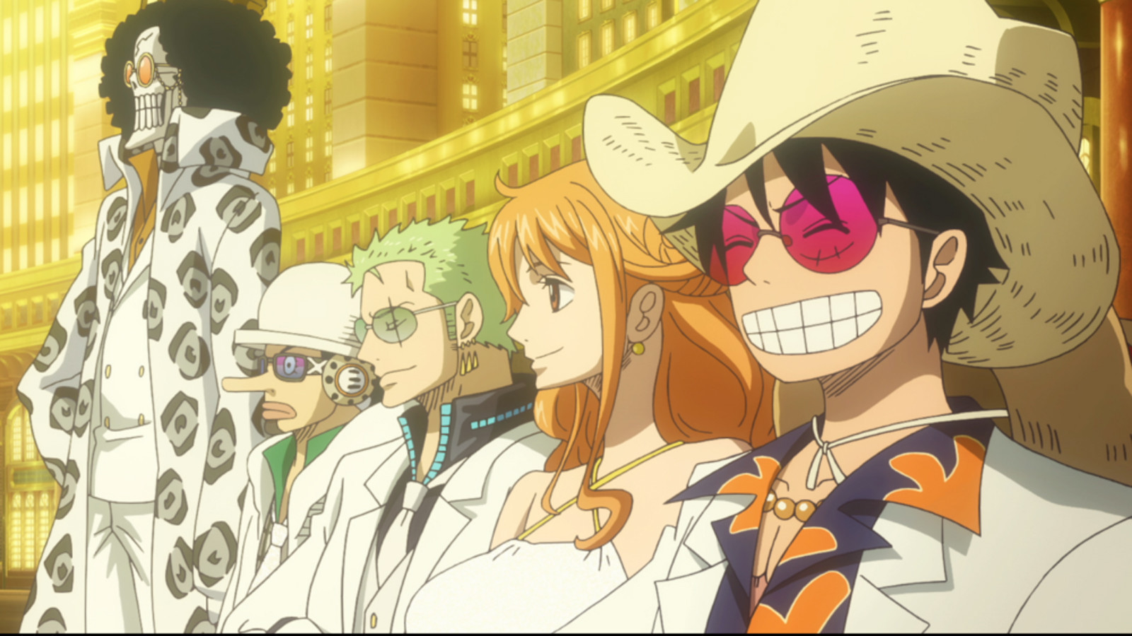 Image result for one piece film gold movie images brook