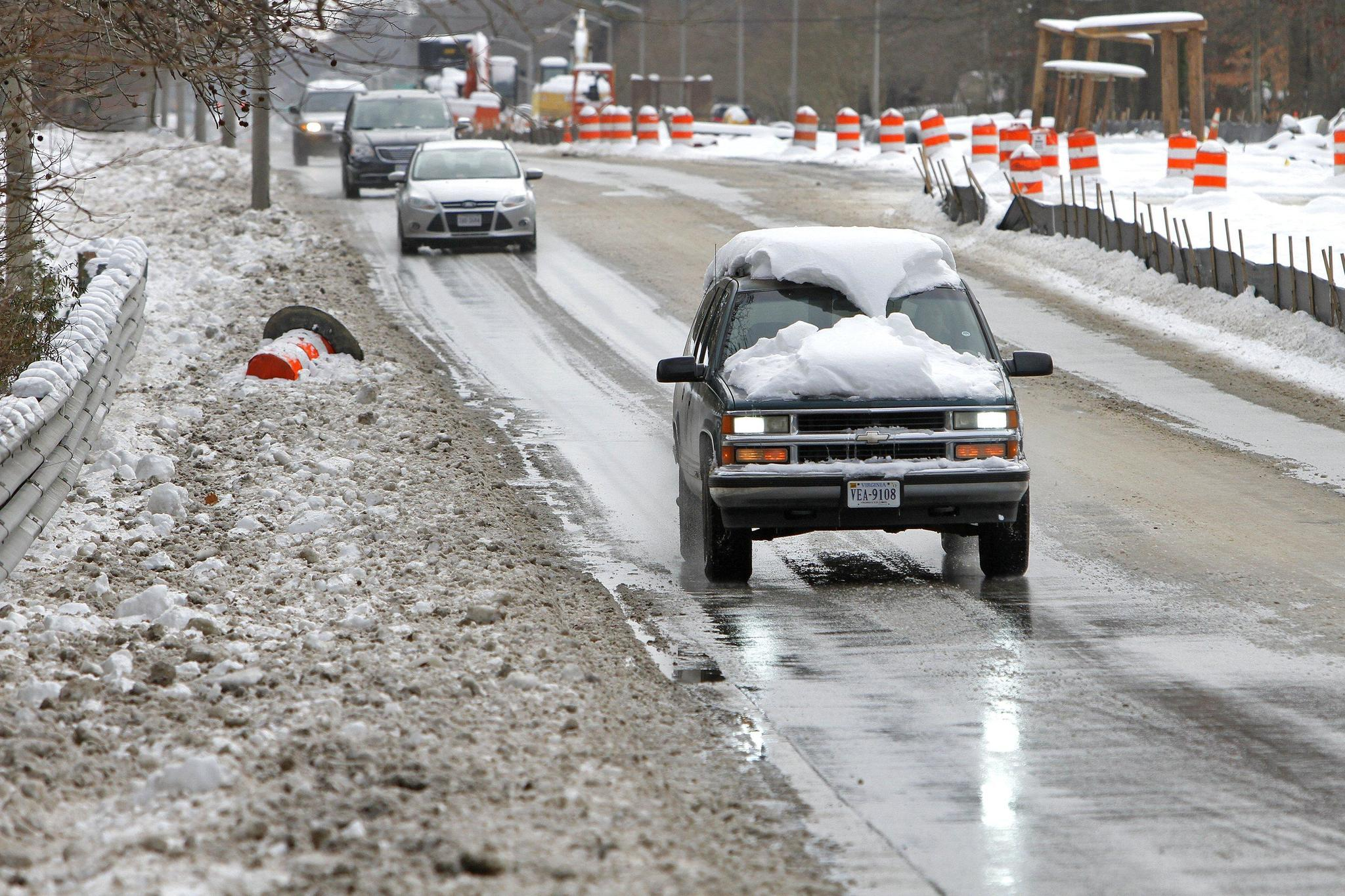 Clear Snow Before You Drive Officials Caution Daily Press