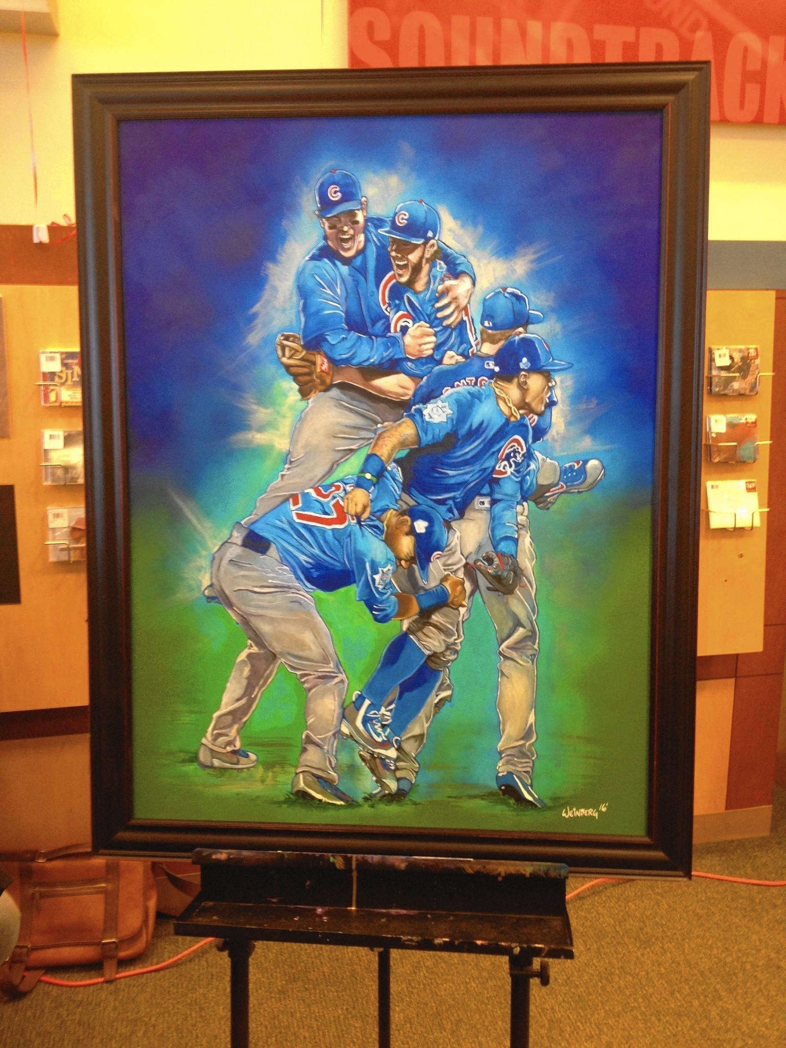 Viral Video Captures Cubs Painting S Magic Moments Post