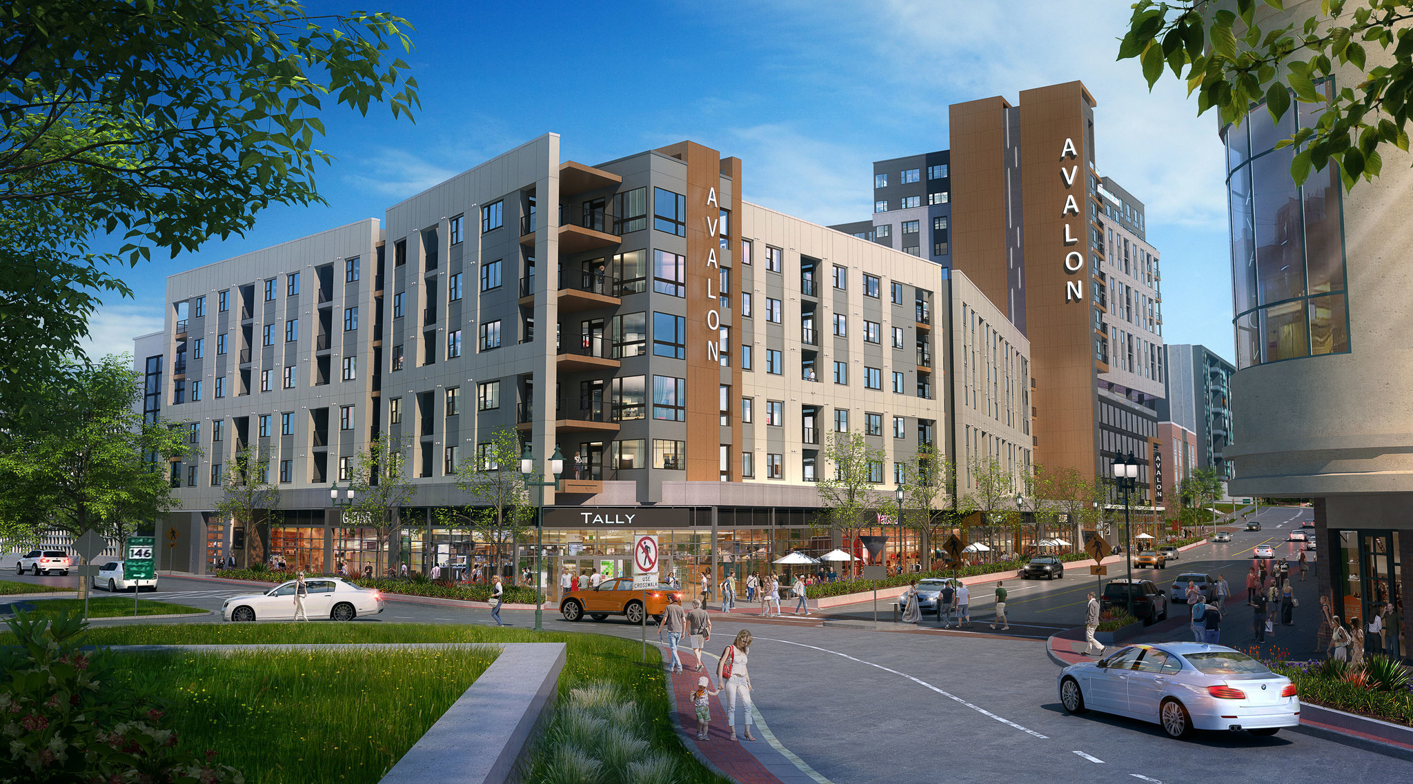 Towson Circle Developer Shares First Rendering Of Project