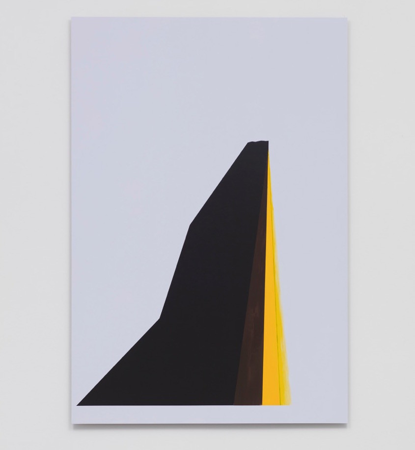 """""""Mountain Aura,"""" 2017, by Theaster Gates, from his new solo show at Regen Projects."""