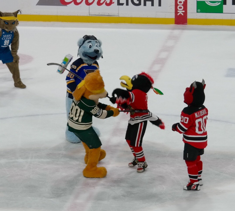 Violent Nhl Mascot Skit Delivers A Blow To League S Family