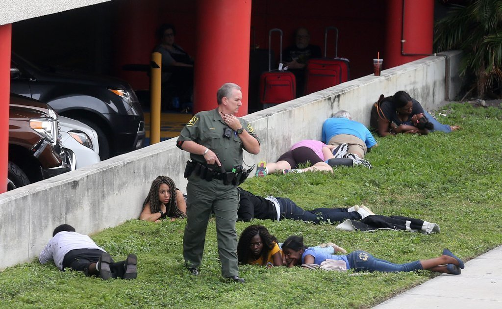 High Quality Gunshot Reports Fueled Panic After Fort Lauderdale Airport Shootings   Sun  Sentinel