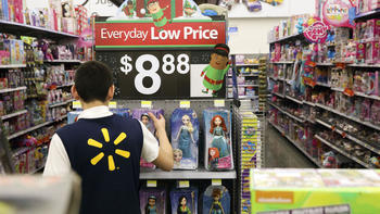 Wal-Mart's latest bid to battle Amazon: Free two-day