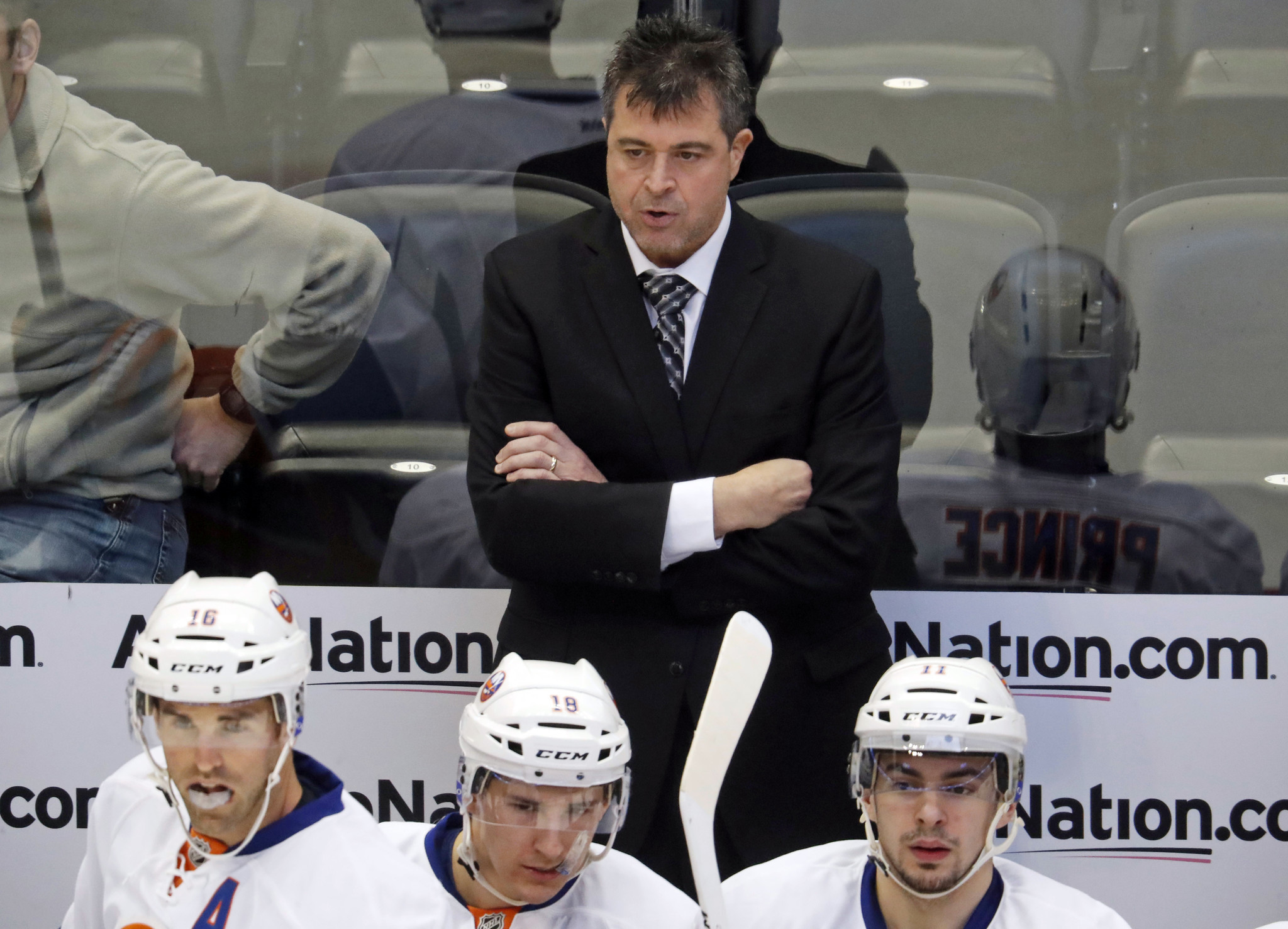 Islanders fire coach Jack Capuano after seven seasons - Chicago Tribune bed4d0405