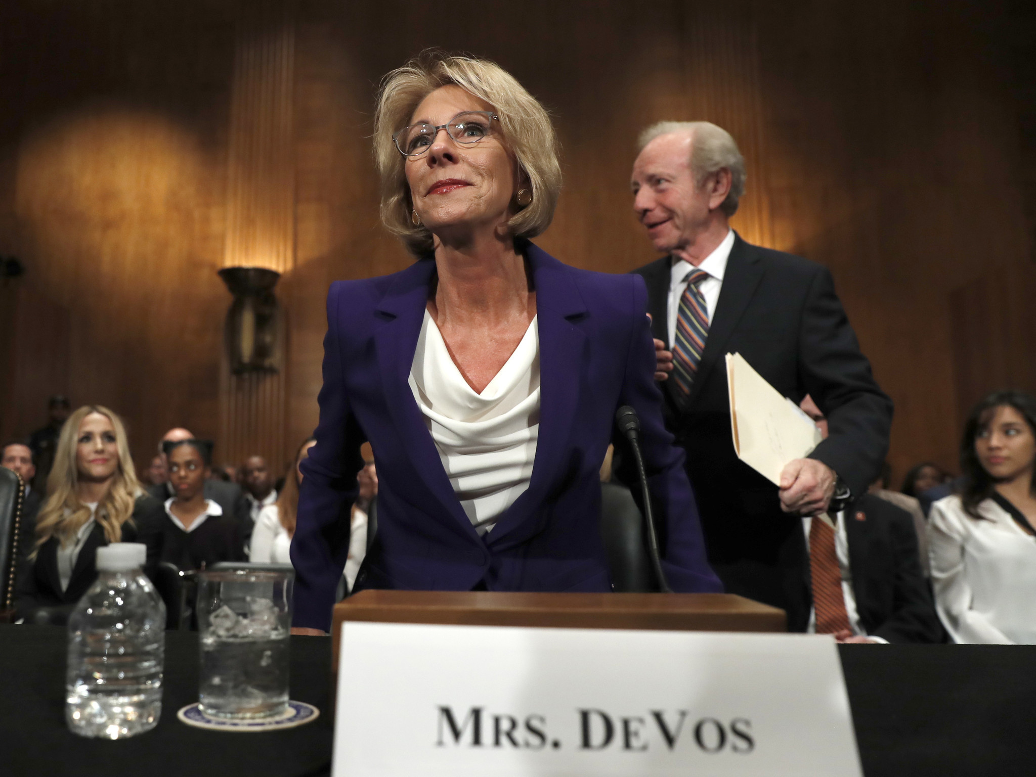 Education secretary pick betsy devos called bold reformer unfit for
