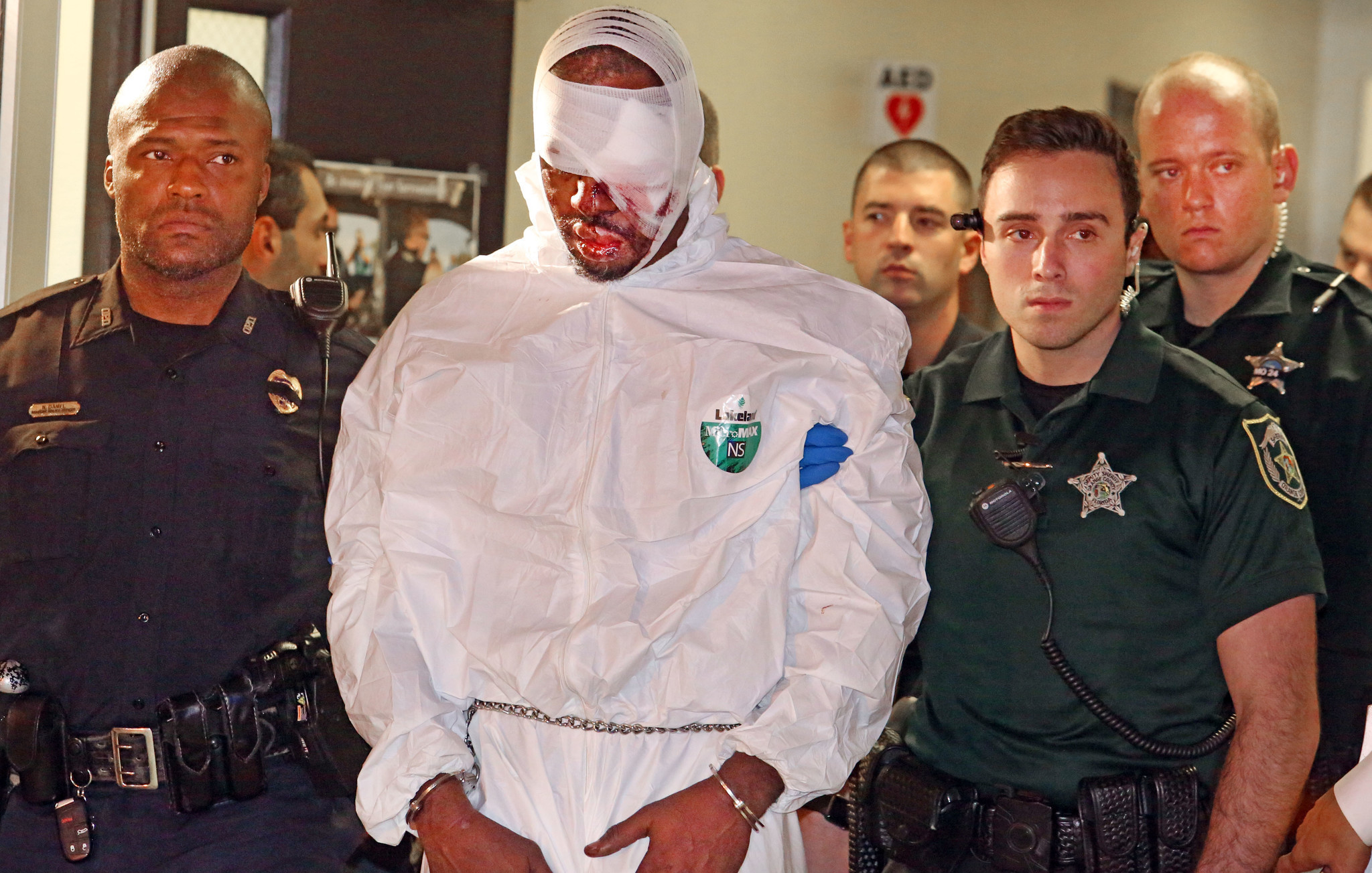 Markeith Loyd Captured Suspect In Orlando Police Officer