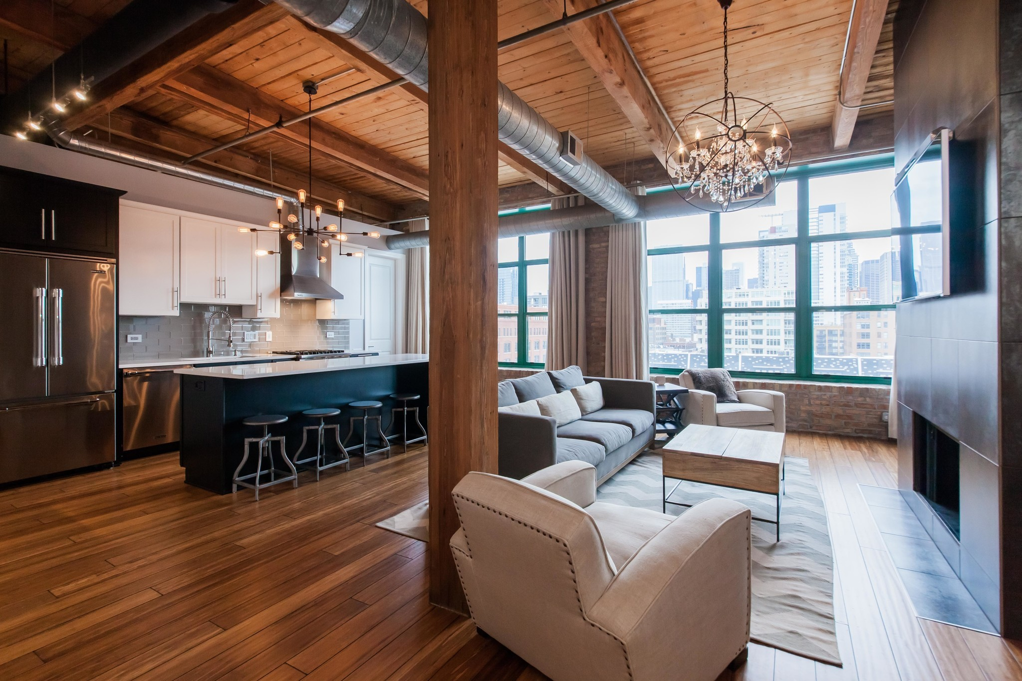 West Loop Loft With Exposed Brick 900 000 Chicago Tribune