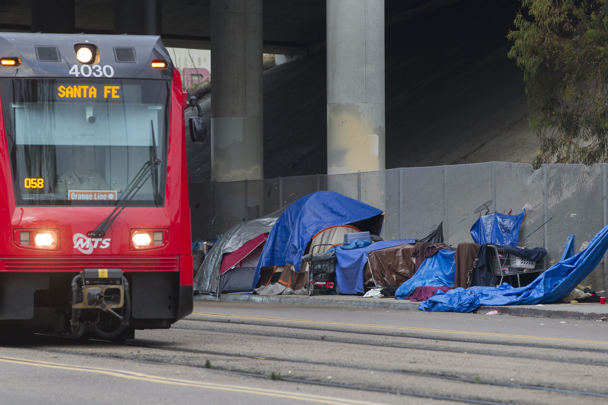 Shelters Face Pressure As Homeless Days Of Rain The San