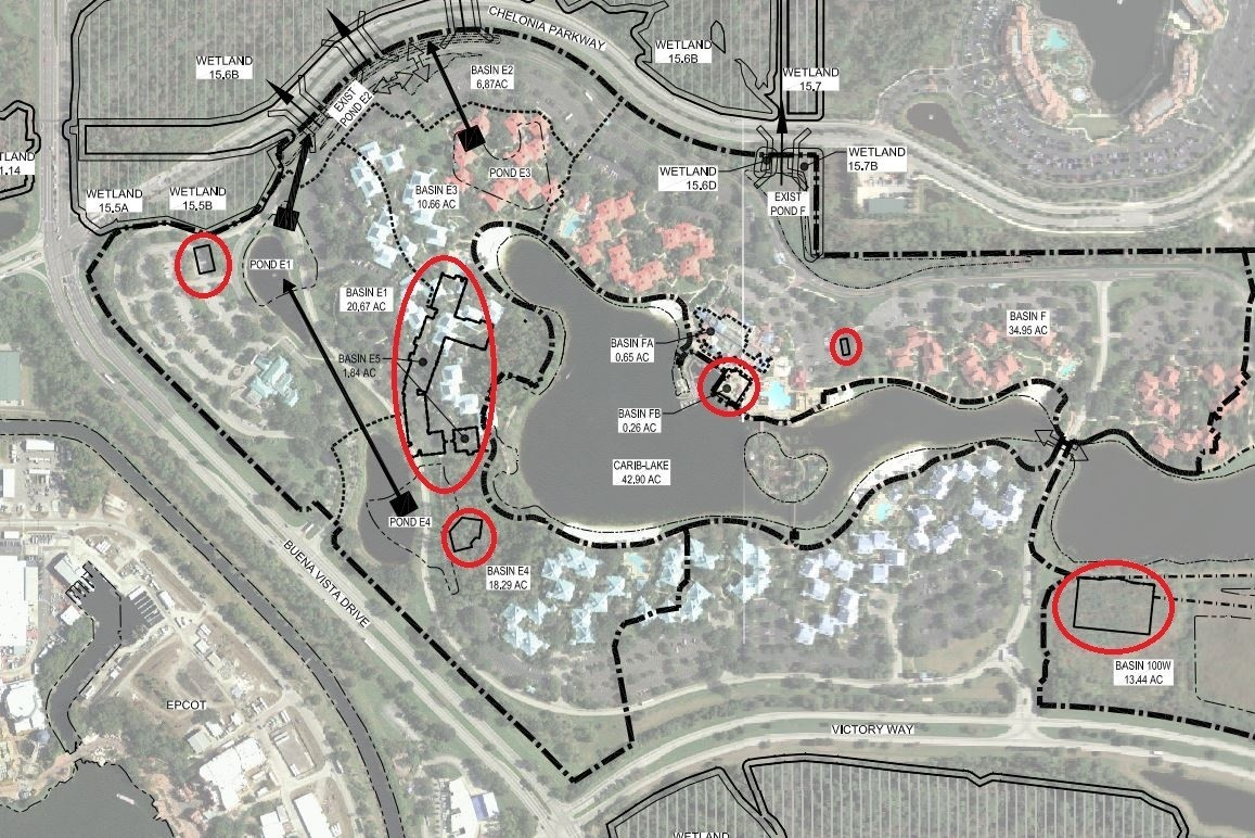 New buildings planned at Disney World\'s Caribbean Beach Resort ...