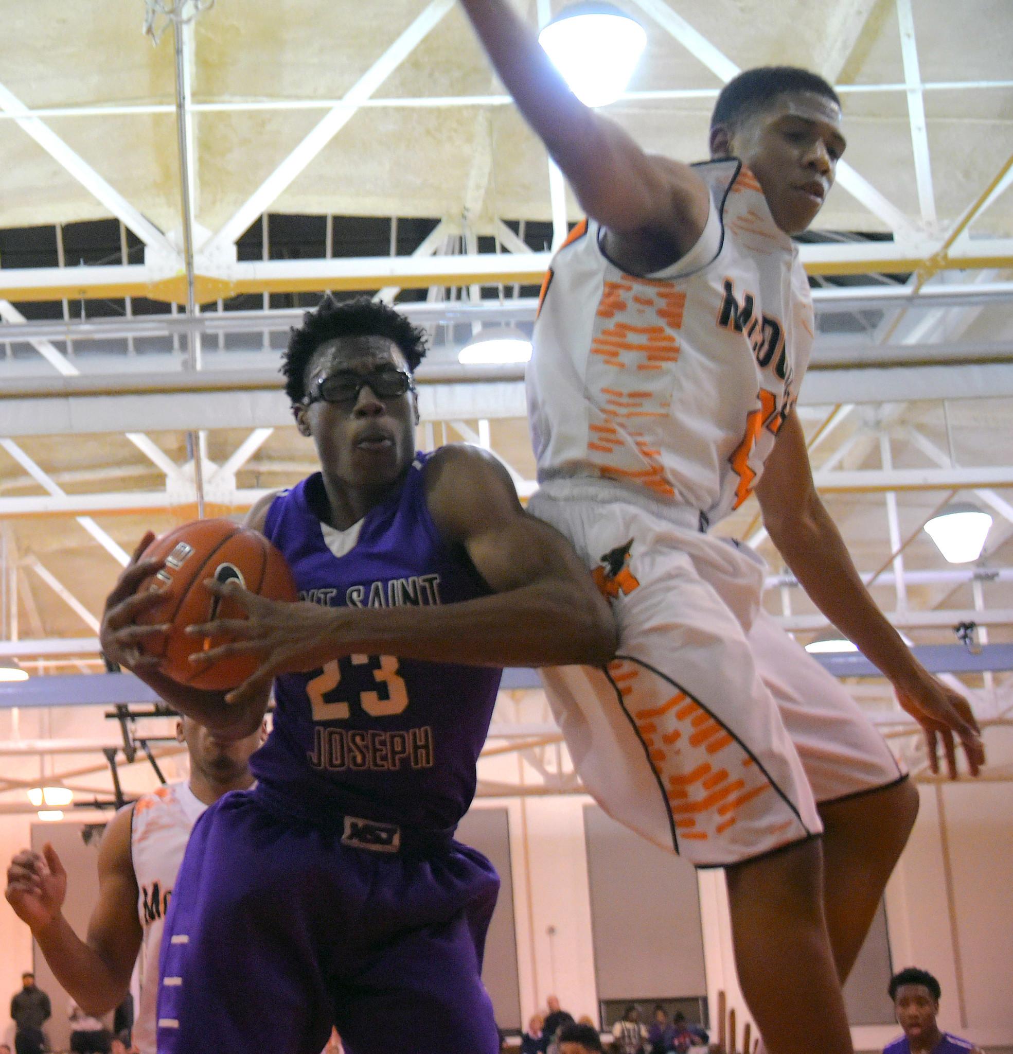Boys basketball Game of the Week: No. 1 Mount Saint Joseph ...