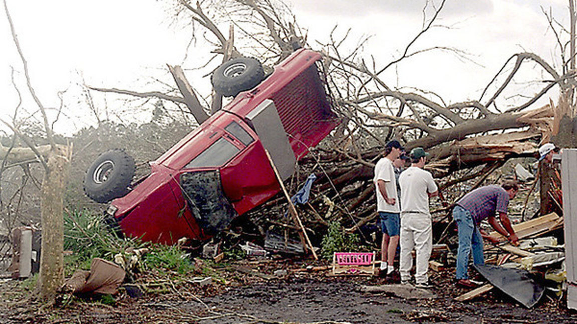 Pictures Orlando Area Tornadoes Through The Years