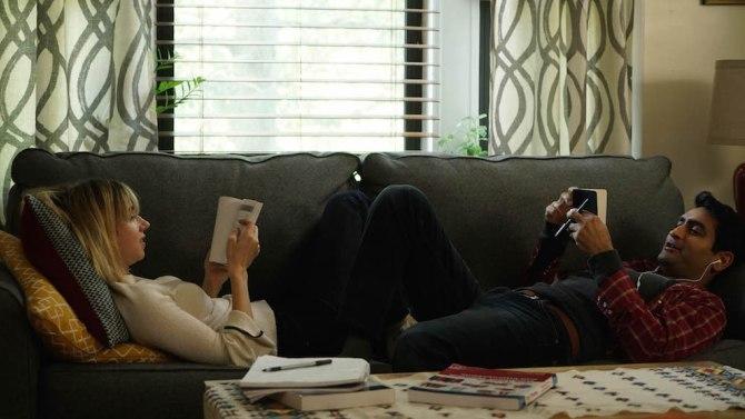 "Zoe Kazan and Kumail Nanjiani in ""The Big Sick."""