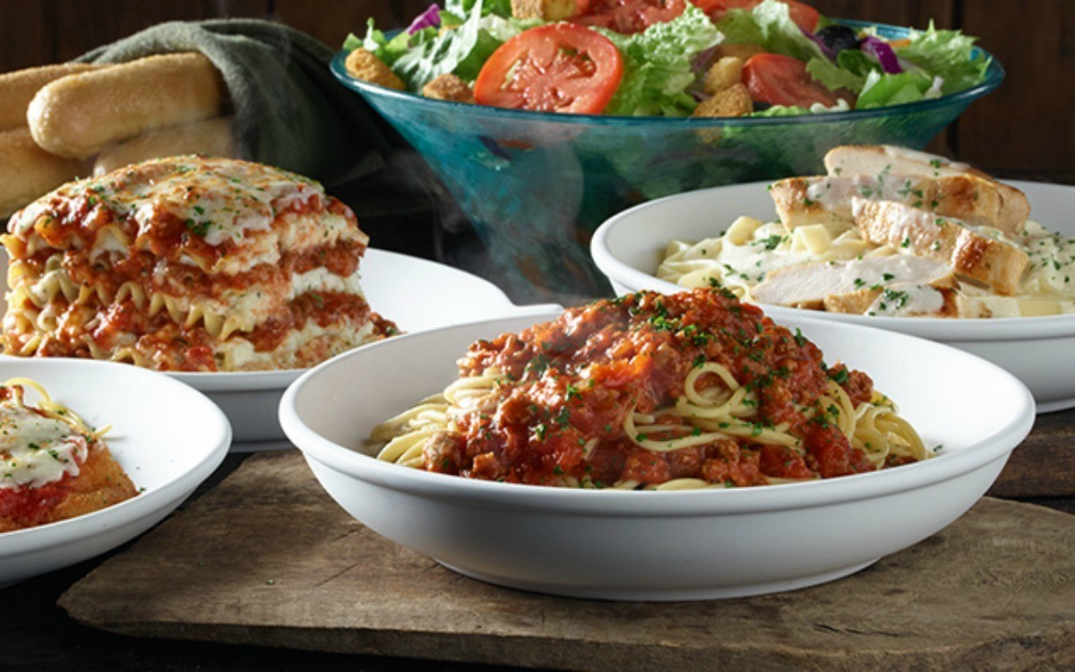 All The Pasta You Can Eat With Olive Garden S Never Ending: Olive Gardne Adds Never Ending Classics To Menus.
