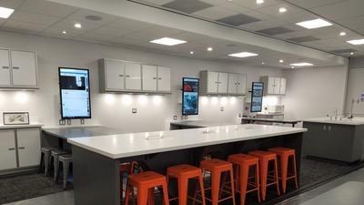 Photos: MdBio Foundation debuts new mobile laboratory