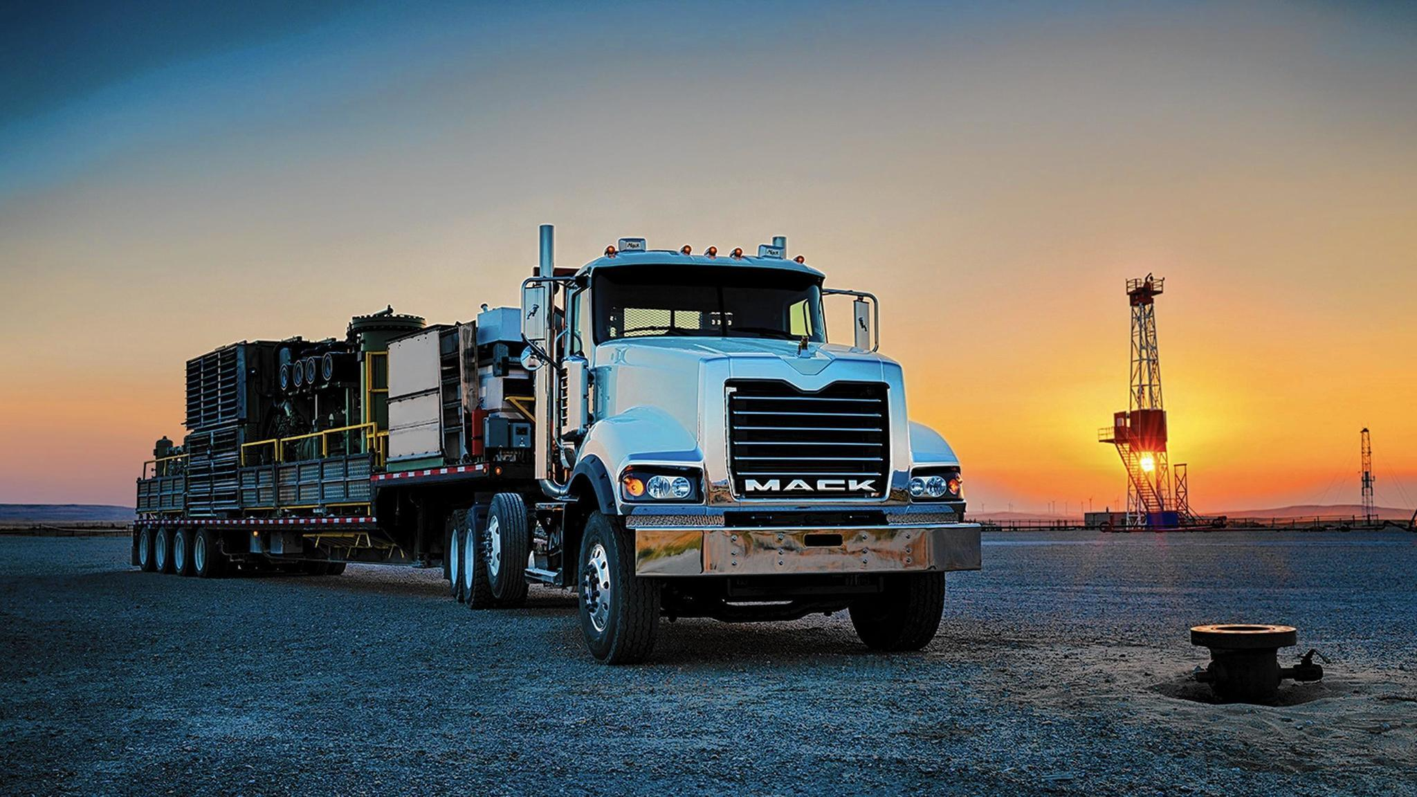 Mack Trucks discontinues    Titan    model  16liter    engine