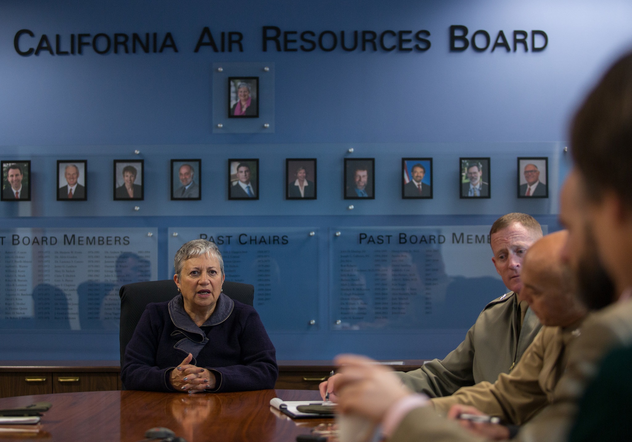 Mary Nichols, chair of the California Air Resources Board, oversees the cap-and-trade program.