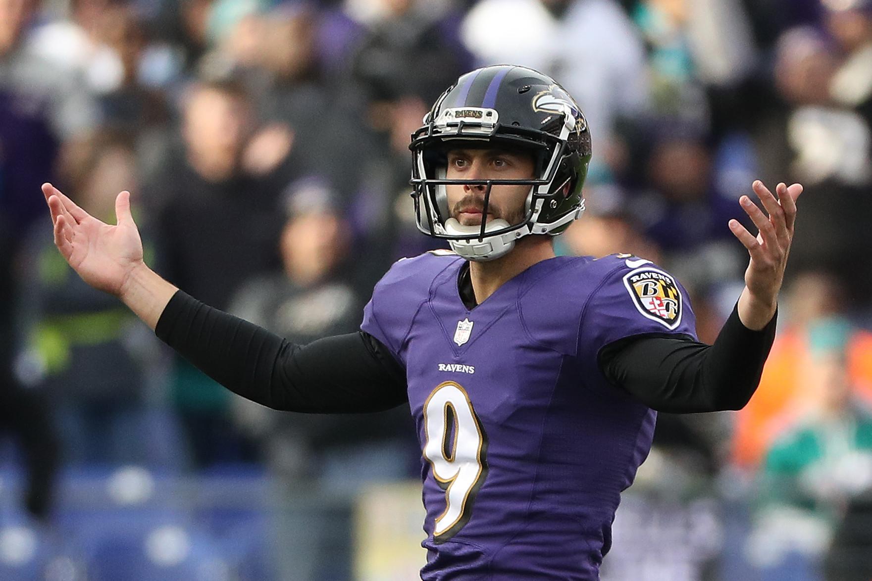 Blair Walsh Kicker >> Ravens' Justin Tucker booms 75-yard field goal at Pro Bowl practice - Baltimore Sun