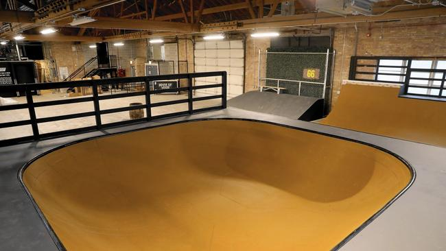 4f9f4a7cb8 Vans plans indoor skate park and music venue off Restaurant Row ...