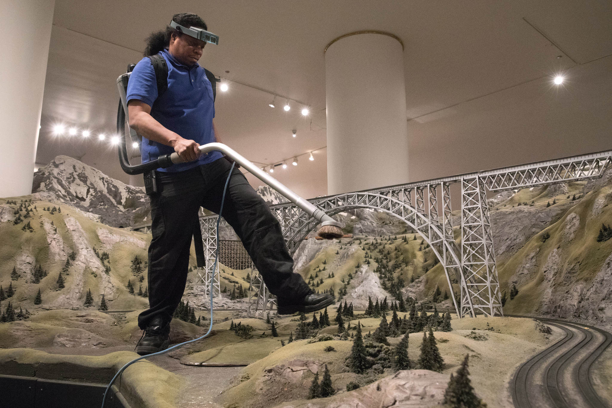 Meet The Man Who Keeps The Train Set On Track At The