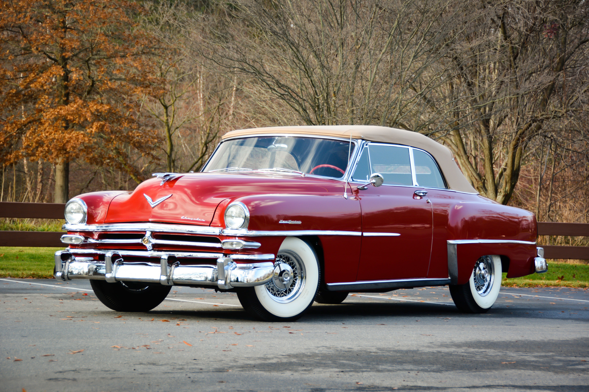1953 Chrysler New Yorker Deluxe Convertible The Morning Call