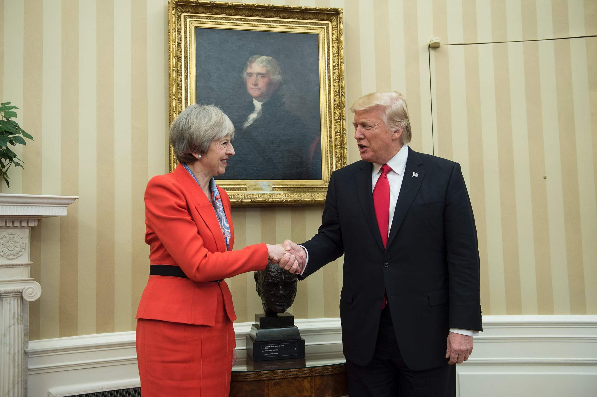 Trump, May affirm special relationship between U.S., Great ...