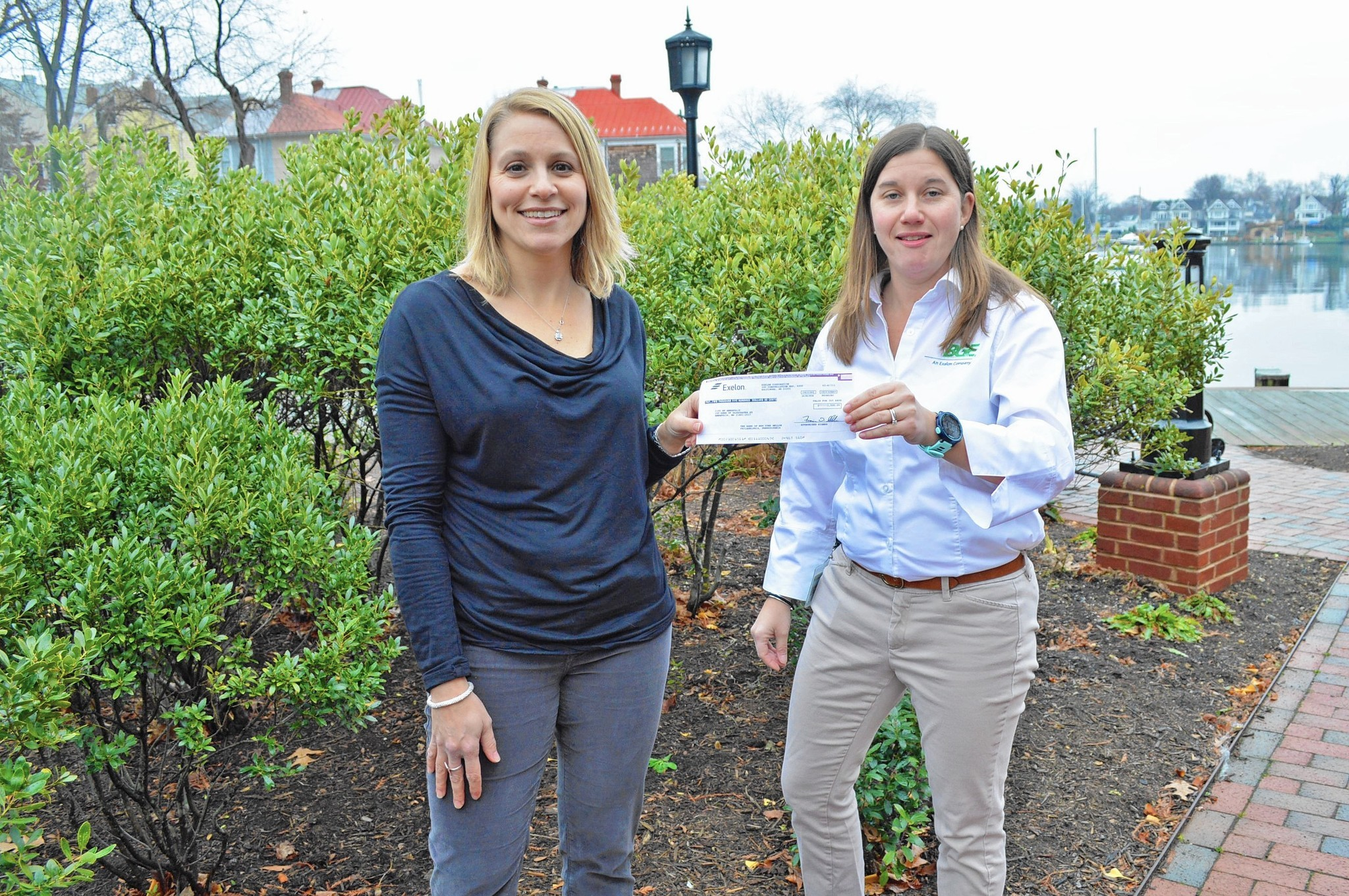 My Time Bge Donates 2 500 To Annapolis Greenscape