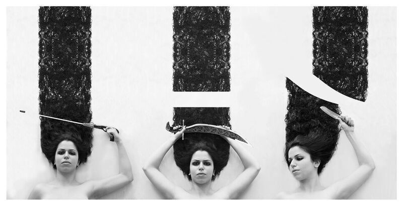 """False Roots"" by Sanaz Khosravi, digital photograph, 2016."