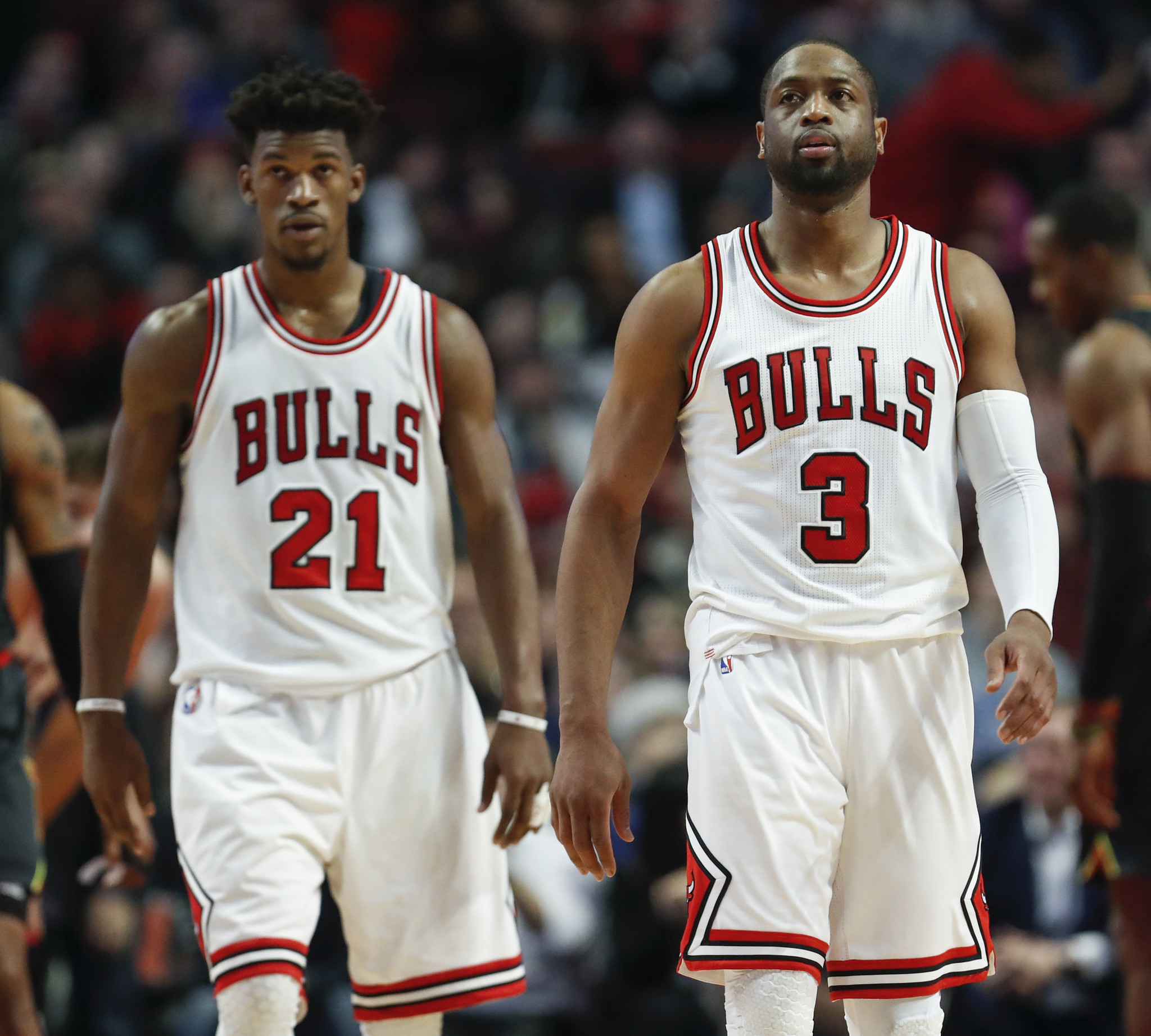 Dwyane Wade Stays On Message He And Jimmy Butler Need