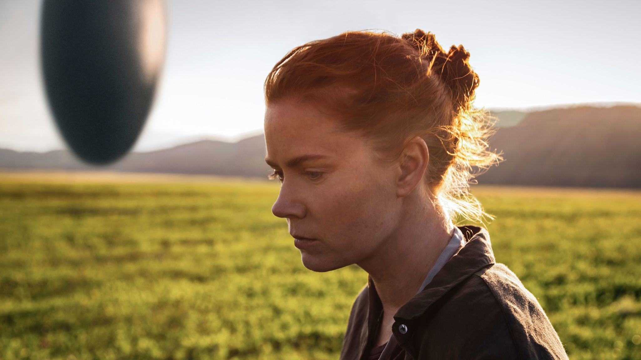 "Amy Adams in a scene from ""Arrival."""