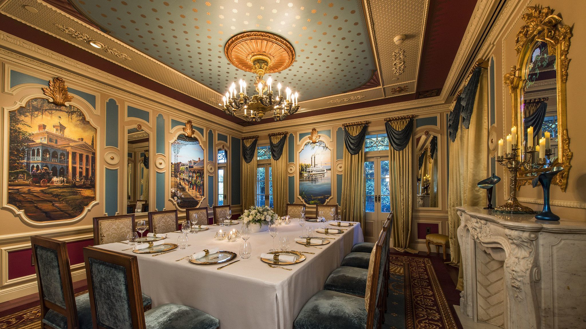 Seven Course Meal At Private Disneyland Dining Room Comes