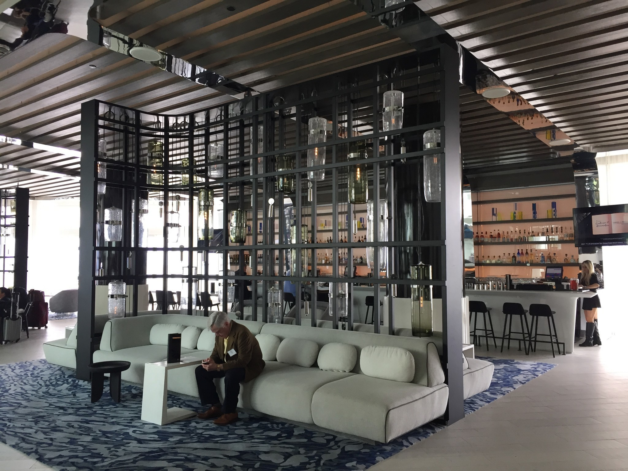 The Living Room W Hotel Fort Lauderdale