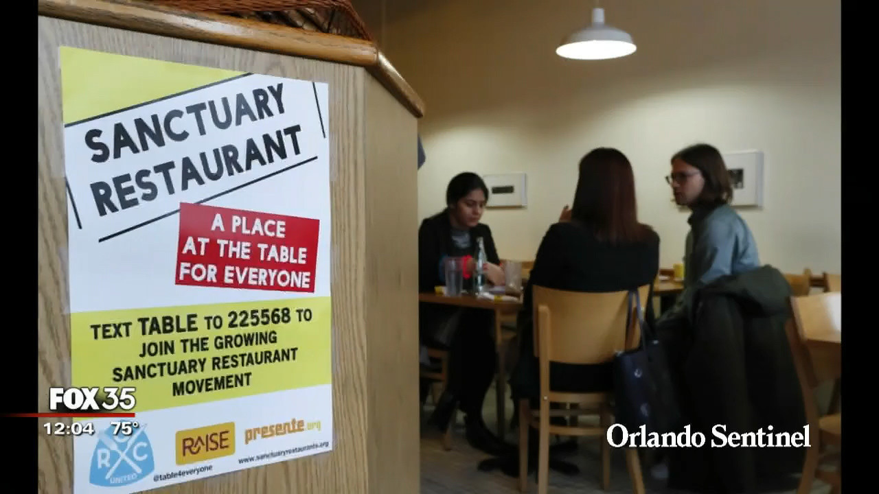 Local Sanctuary Restaurants Support People Of All Backgrounds Orlando News Now Sentinel