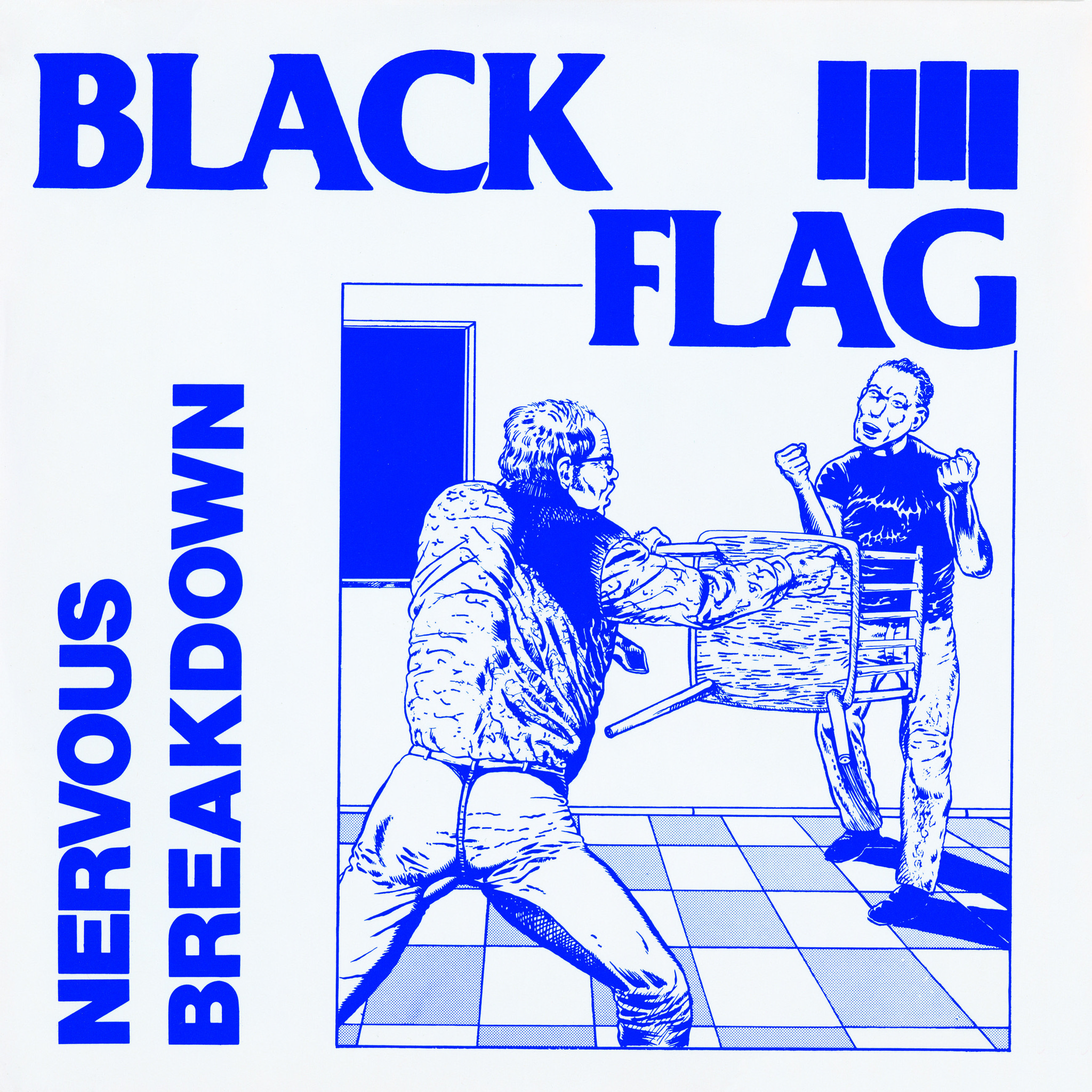 "Raymond Pettibon for Black Flag's ""Nervous Breakdown,"" 1980"