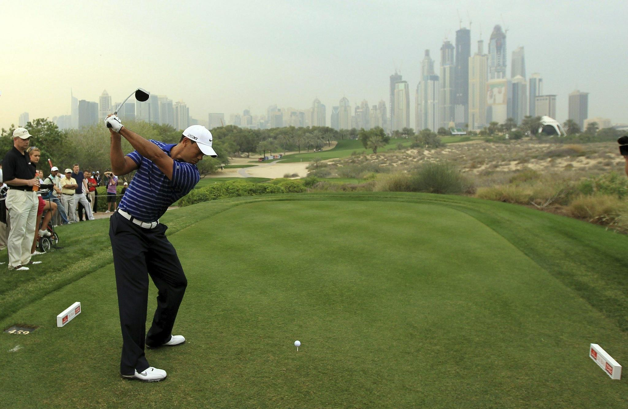 Tiger Woods Withdraws