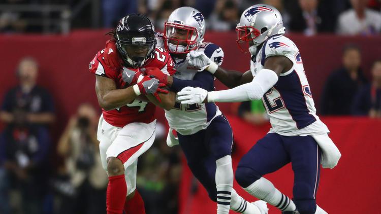 In Falcons Super Patriots Sun Win Baltimore Li - Thriller Bowl Over Overtime