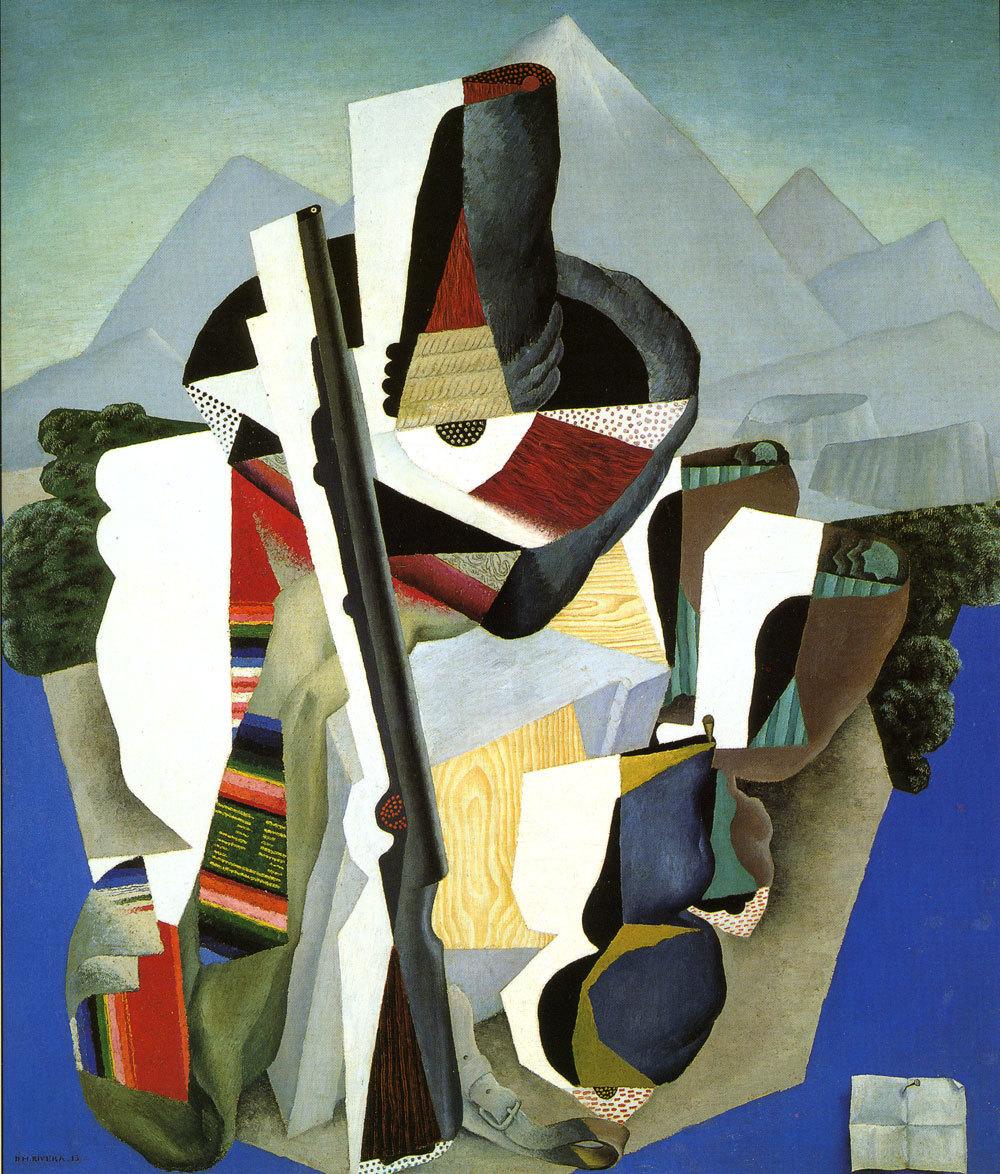 """Diego Rivera, """"Zapatista Landscape,"""" 1915, oil on canvas"""