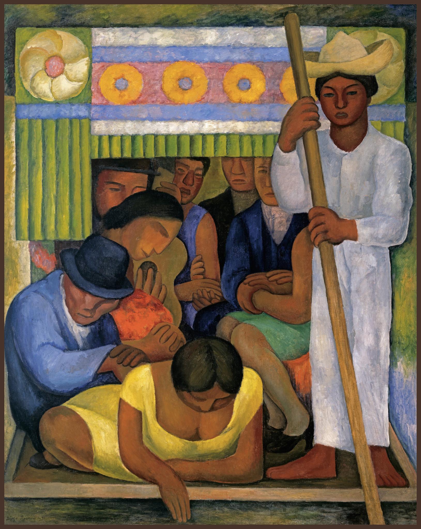 "Diego Rivera, ""Flowered Canoe,"" 1931"