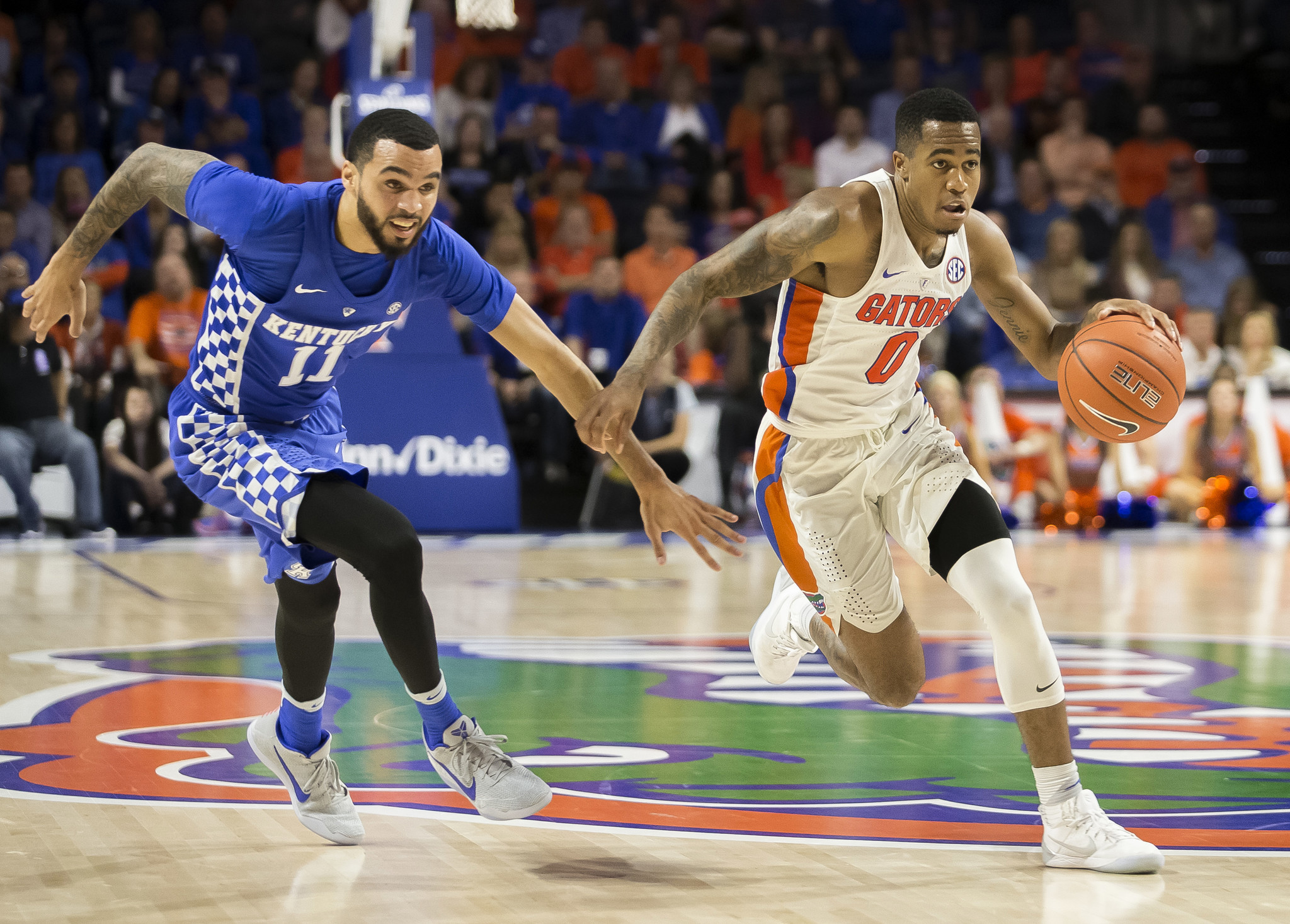 Gators snap five-game losing streak to Kentucky with 88-66 ...