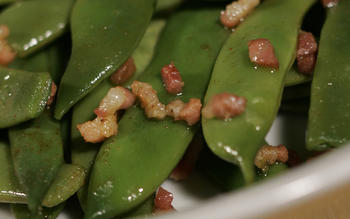 Sauteed green beans, Caceres style