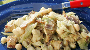Fennel and white bean salad