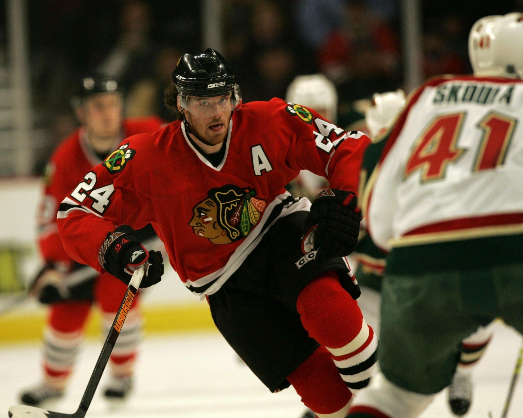 123682321 Former Blackhawk Martin Havlat retires after 14 NHL seasons. Martin Havlat.  Charles Cherney   Chicago Tribune