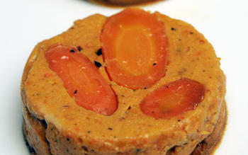Carrot-thyme timbales